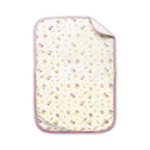 Cambiador de pañales para bebé, rosa, 70 cm x 42 cm