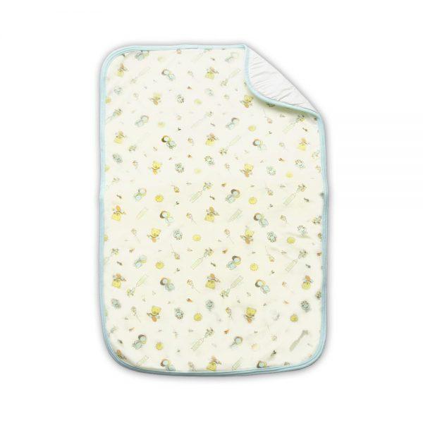 Cambiador de Pañales para bebé, verde, 70 cm x 42 cm