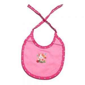 Babero Lunita rosado para tu bebé