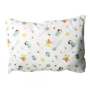 Almohada verde para bebé, 25 cm X 35 cm