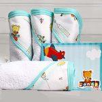 Babitas y toallitas multiusos Landi Baby. Bayetas para bebé