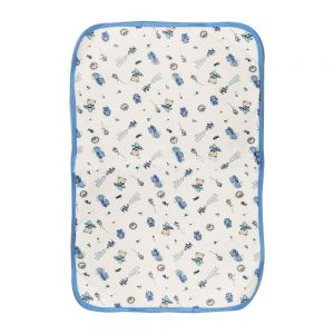 Cambiador de pañales para bebé, azul, 70 cm x 42 cm