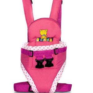 Cargador para bebé de lujo rosado