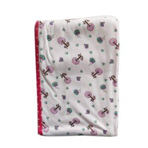 Cobija Doble Faz para bebé, rosa, 75cm x 100cm